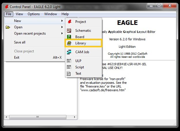 Tutorial: How to Create a New CAD Library Part in Eagle - SnapEDA Blog