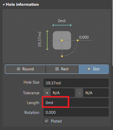 FAQ: How does SnapEDA create slotted holes in Altium